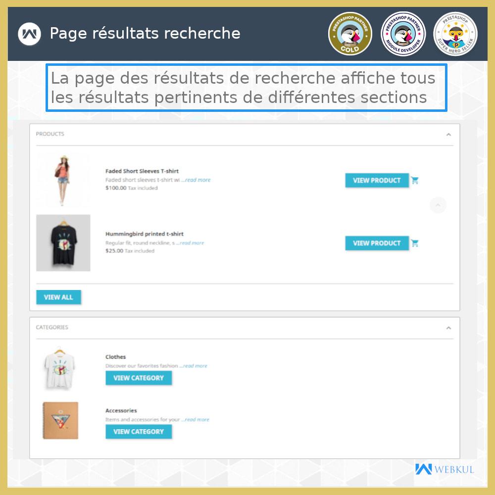 module - Recherche & Filtres - Recherche Avancée - 7