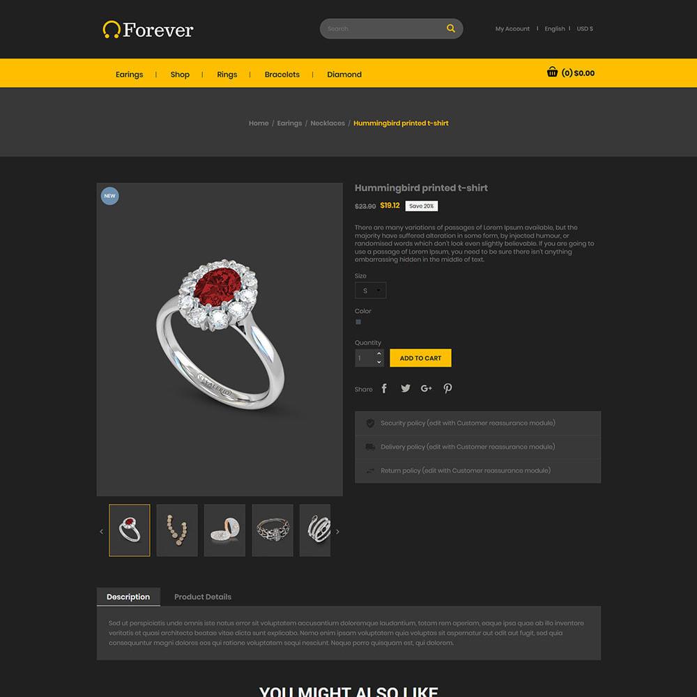 theme - Biżuteria & Akcesoria - Złota biżuteria - sklep z diamentami - 6
