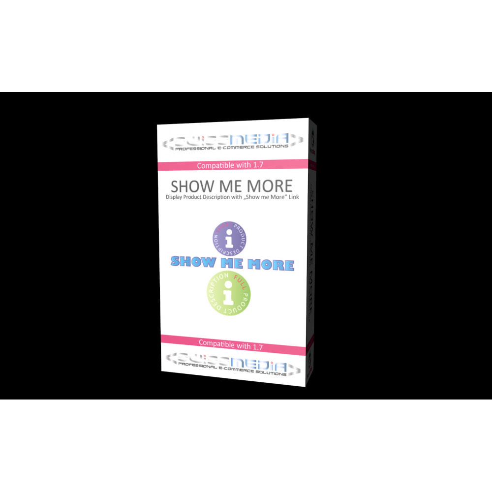 module - Additional Information & Product Tab - Short Product Description with Show Me More Link - 1