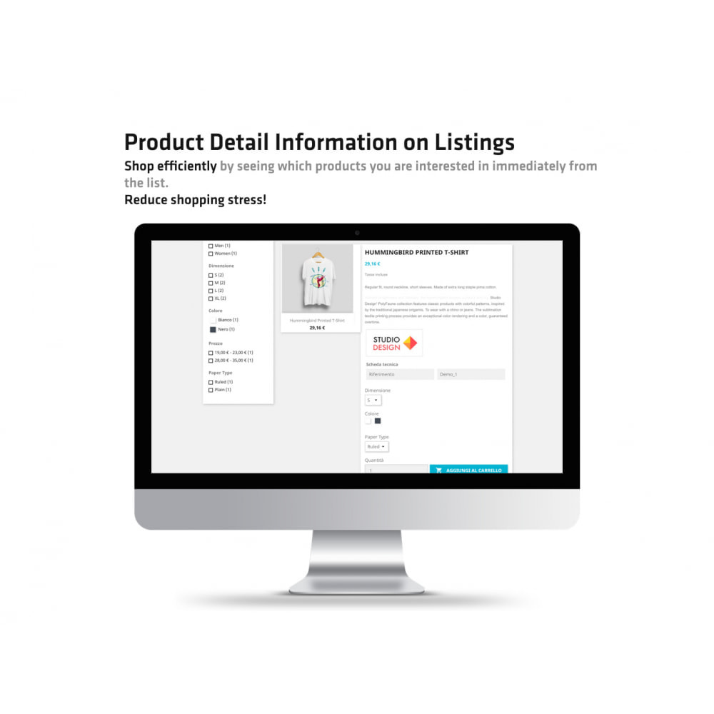 module - Additional Information & Product Tab - Product Detail Information on Listings - 2