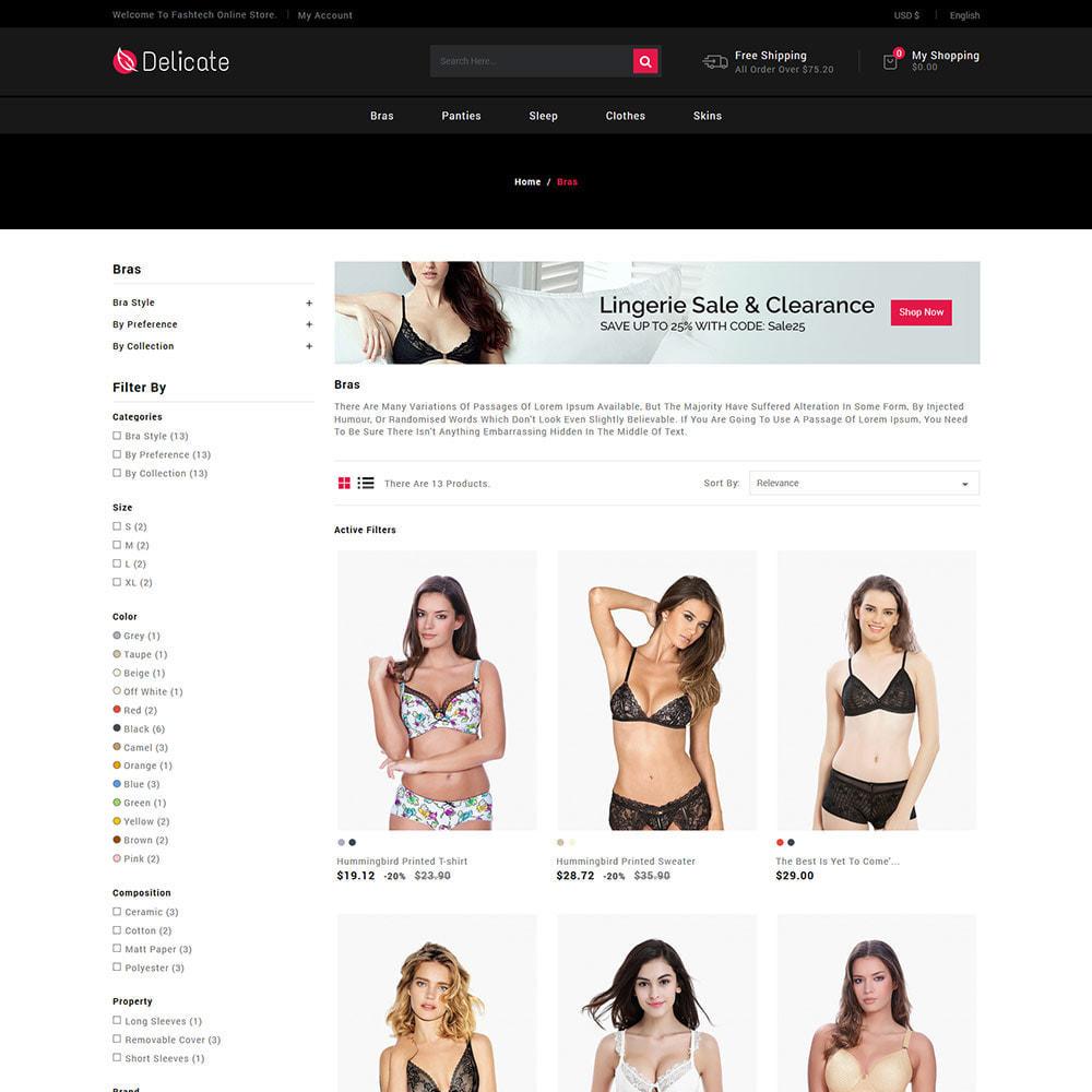 theme - Lingerie & Adultos - Roupa de lingerie - Pijamas Sutiã Calcinhas Store - 4