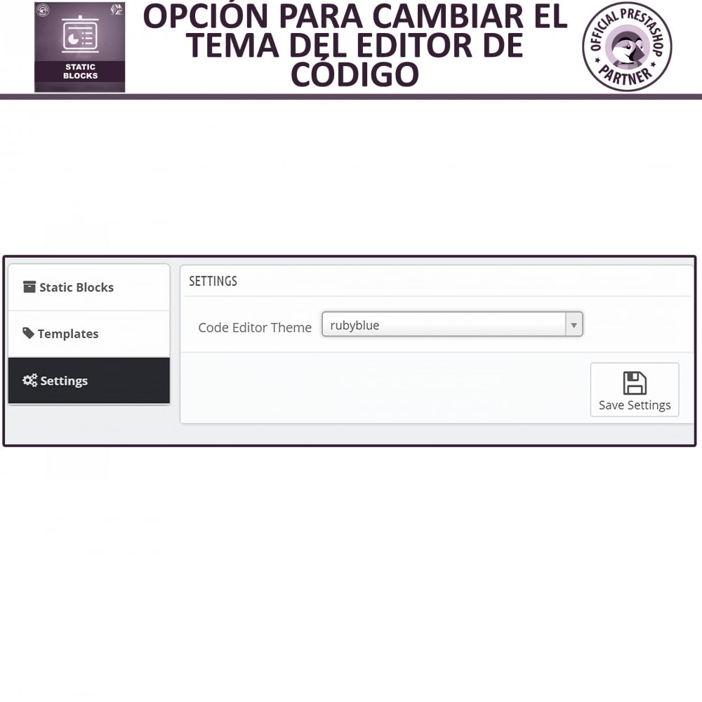 module - Bloques, Pestañas y Banners - Bloques estáticos, Añadir HTML, texto, bloques de medio - 14