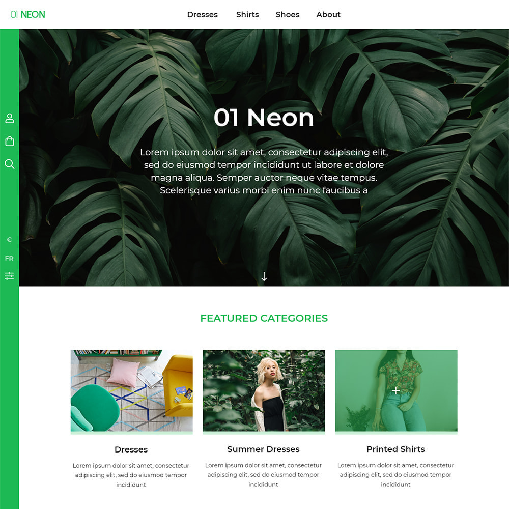 theme - Fashion & Shoes - 01 Neon - 1