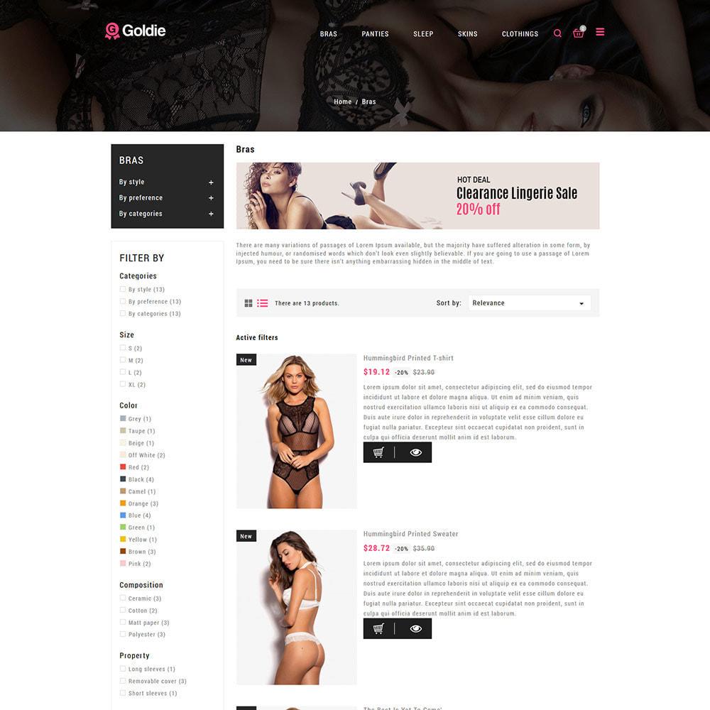 theme - Lingerie & Adulte - Sex Love - Boutique de culottes pour adultes - 5