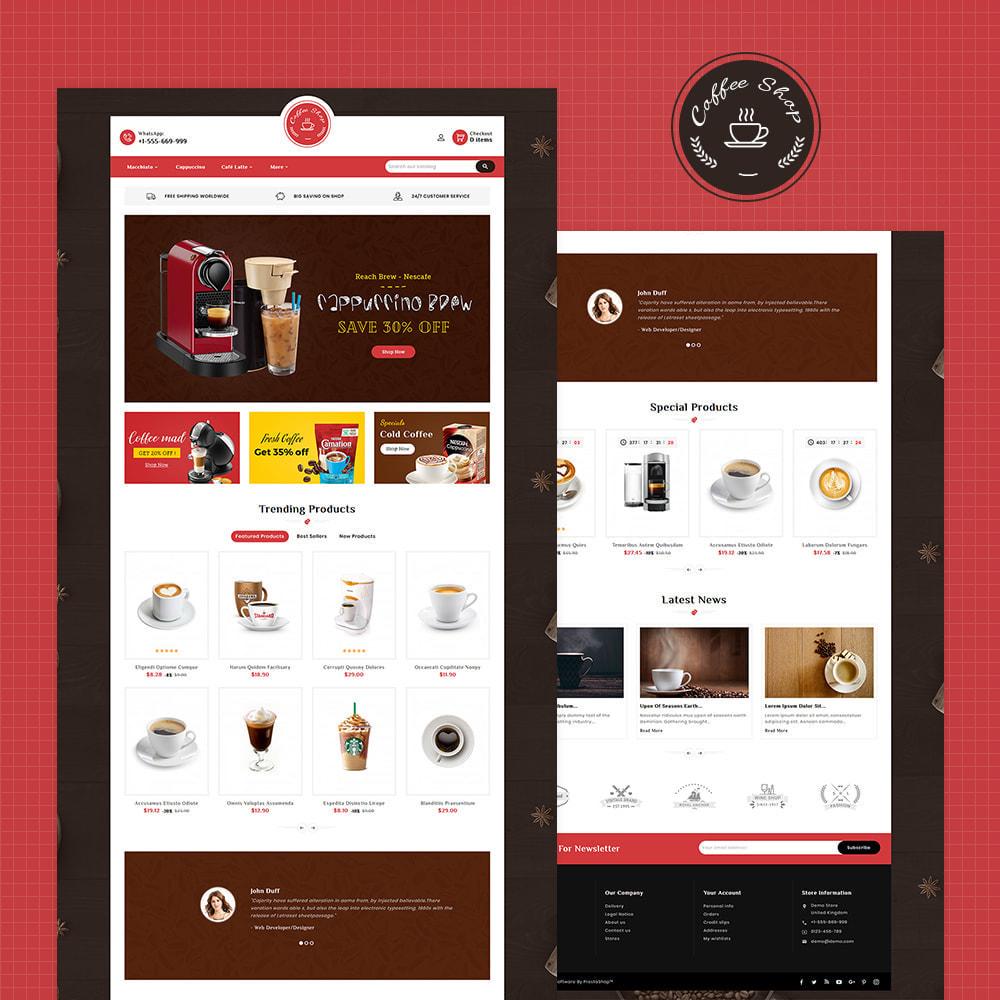 theme - Food & Restaurant - Dessert - Cake & Coffee Store - 2