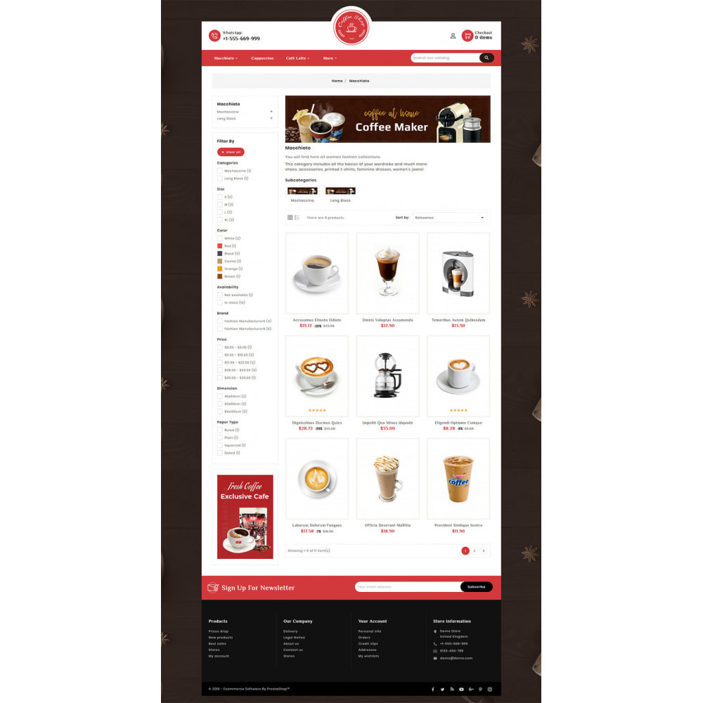 theme - Cibo & Ristorazione - Dessert - Cake & Coffee Store - 4