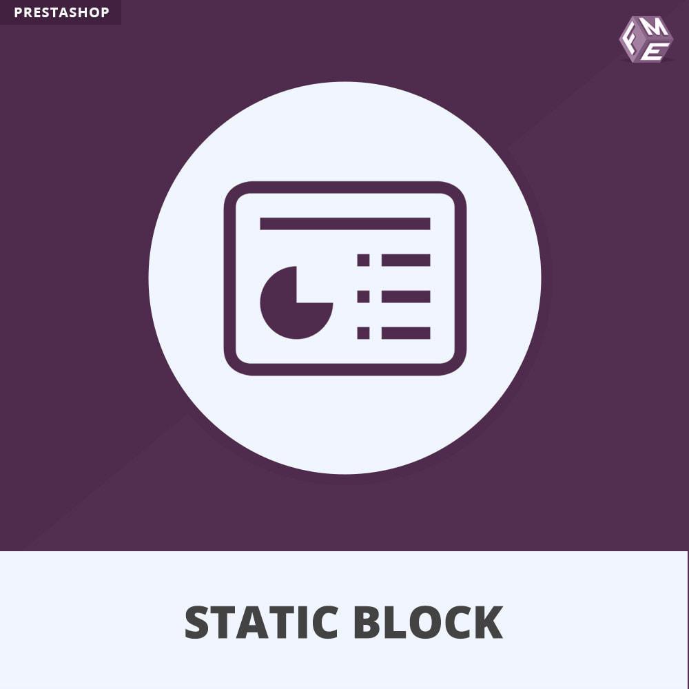 module - Блоки, вкладки и Баннеры - Пользовательские блоки HTML, Text, Banner & Media - 1