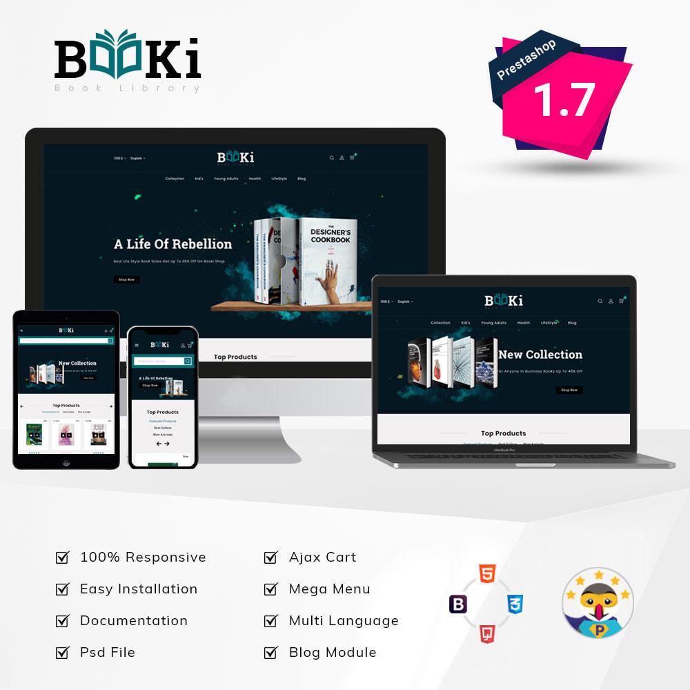 theme - Home & Garden - Booki Book Shop - 1