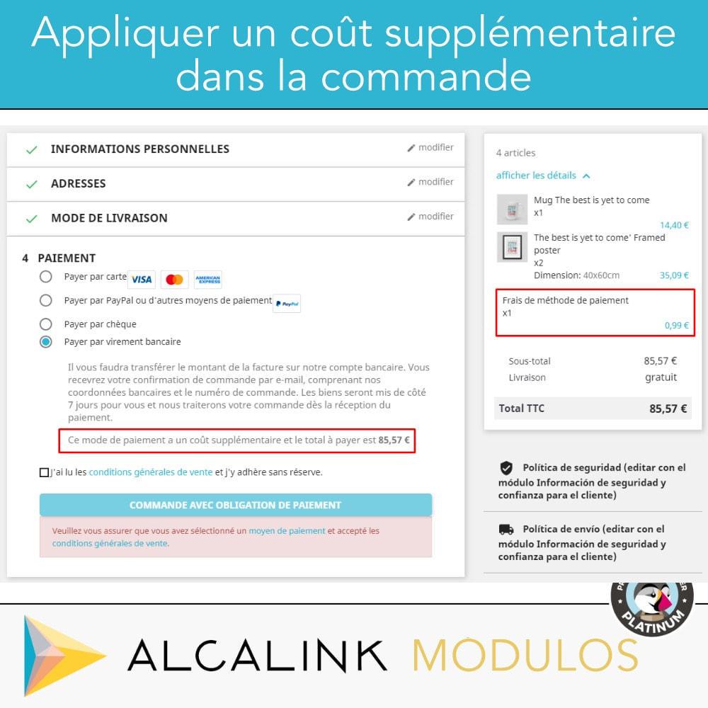 module - Paiement par Carte ou Wallet - Paiement avec supplément - Compatible avec PS Checkout - 4