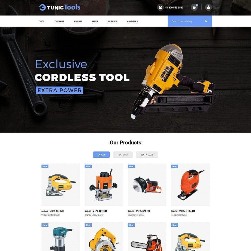 theme - Home & Garden - Garden Tool - Auto Parts Motorcycle  Store - 2