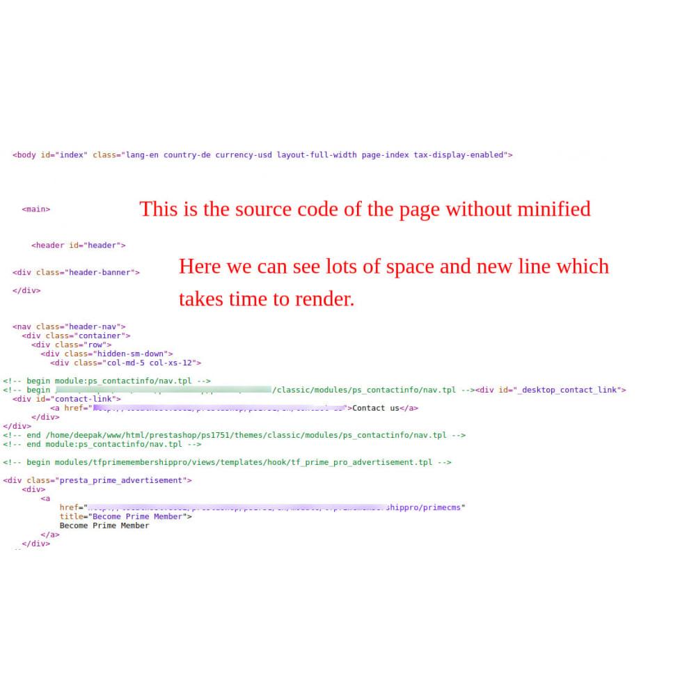 module - Rendimiento del sitio web - Minify HTML, CSS & JS Pro - 3