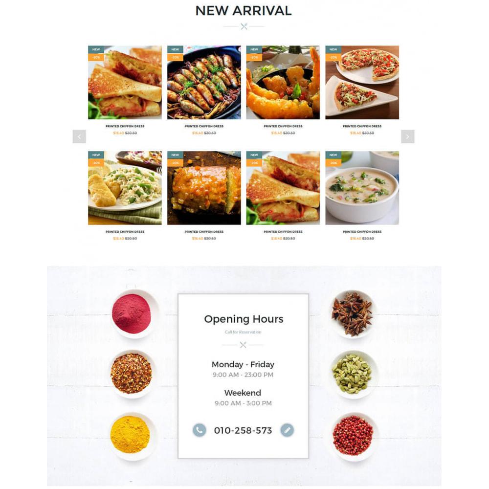 theme - Żywność & Restauracje - Online Restaurant - 3