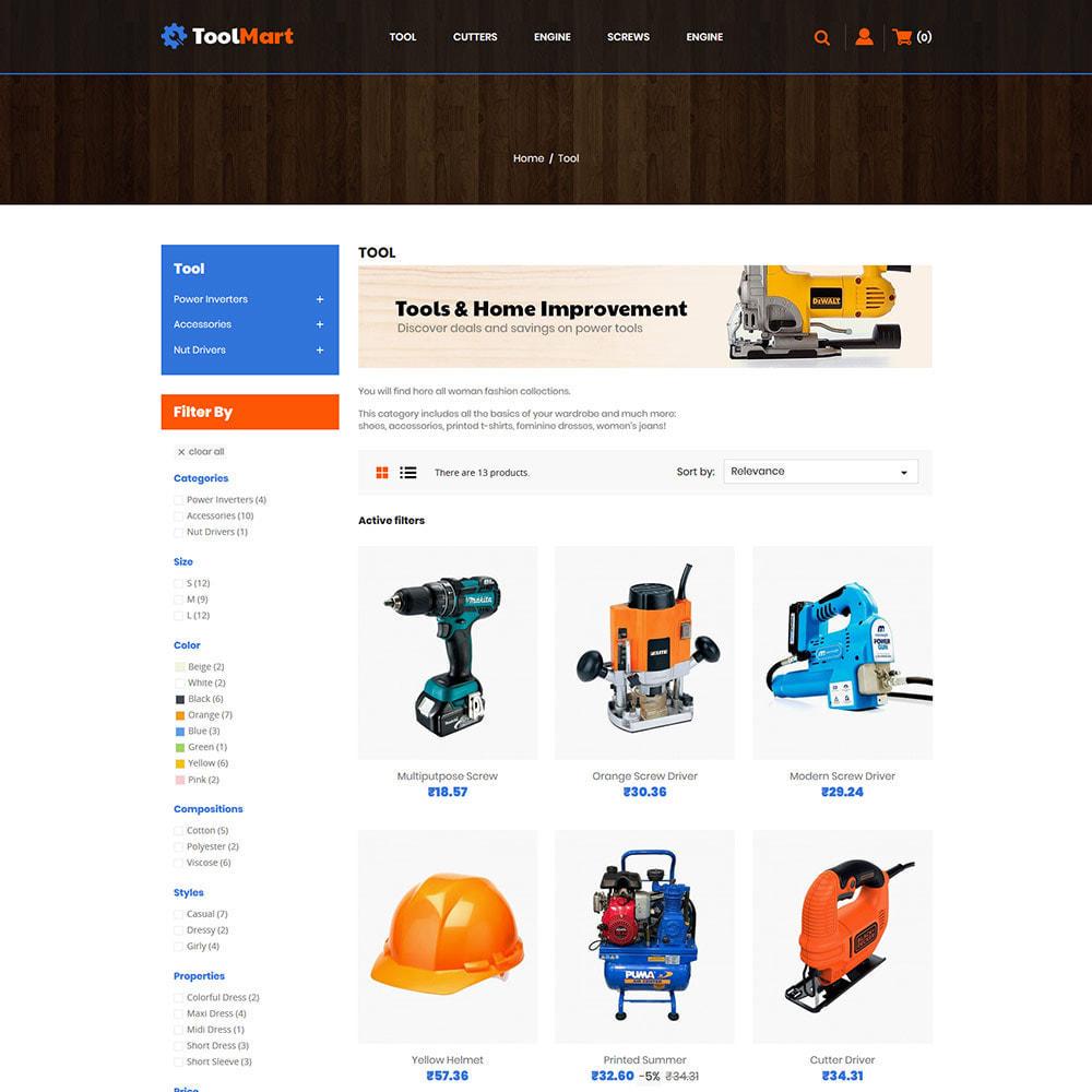 theme - Automotive & Cars - Tool Auto - Car Motor Spare Store - 3
