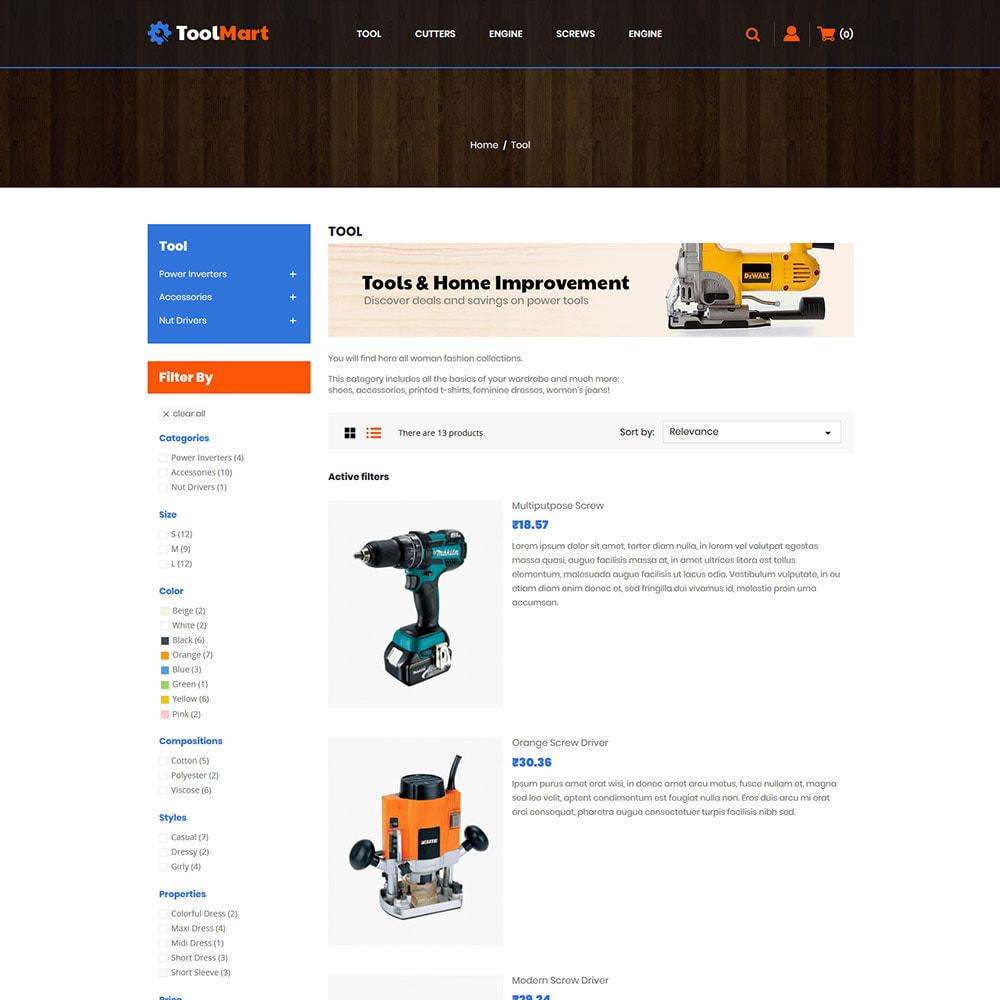 theme - Automotive & Cars - Tool Auto - Car Motor Spare Store - 4