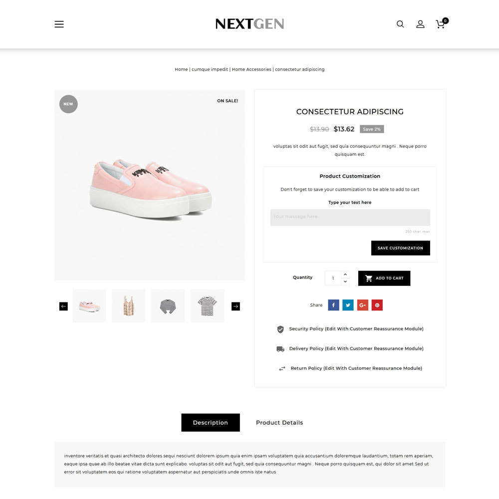 theme - Fashion & Shoes - Nextgen - The Fashion Store - 6