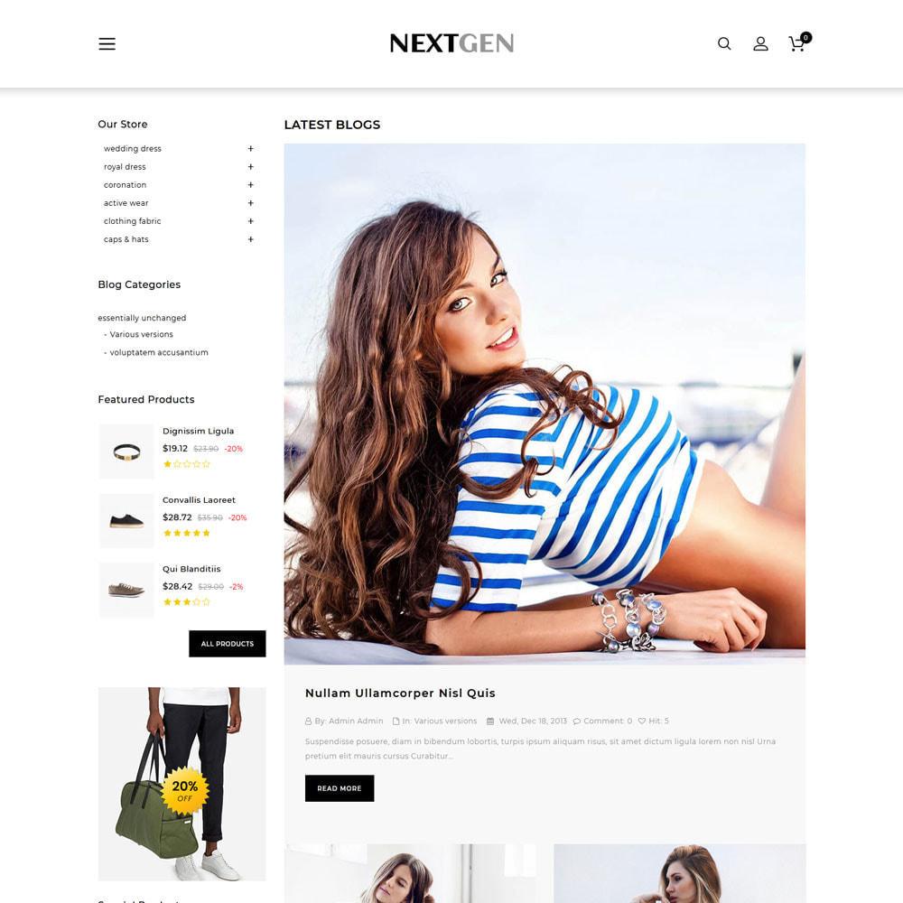 theme - Fashion & Shoes - Nextgen - The Fashion Store - 7