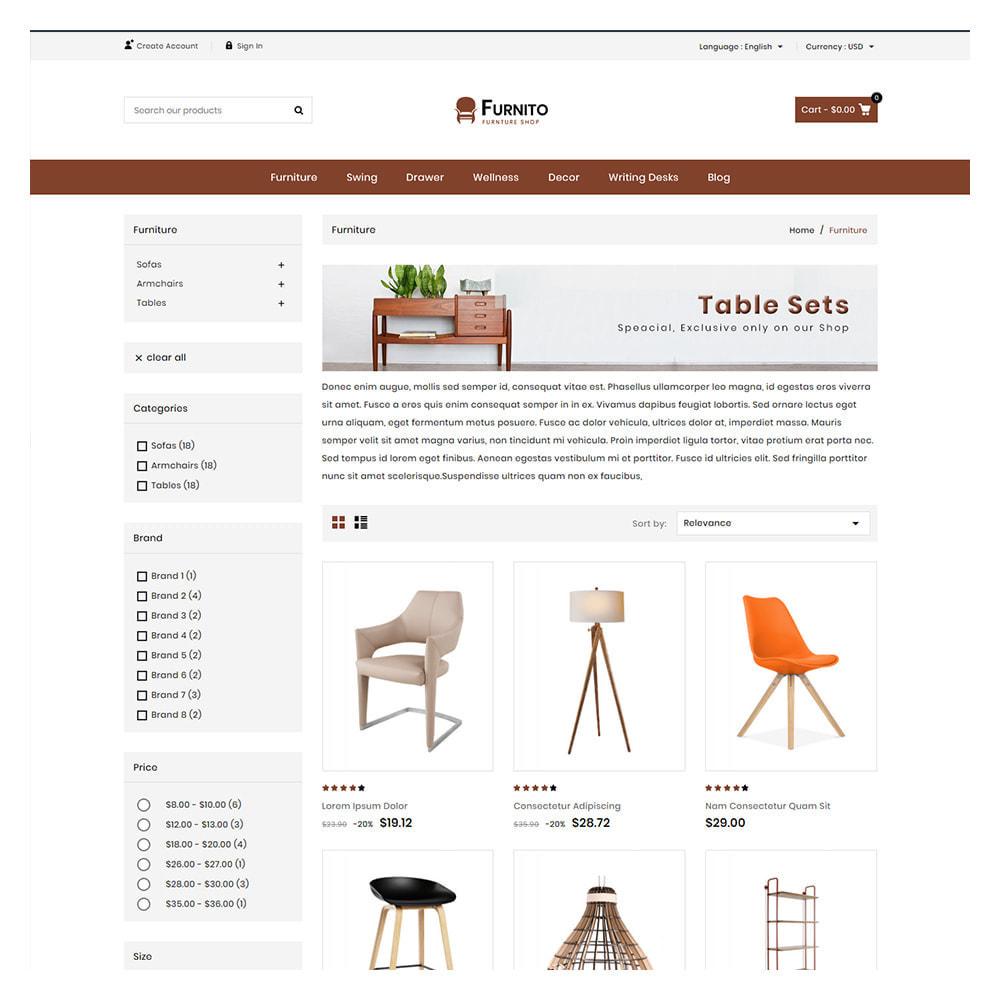 theme - Home & Garden - Furnito Furniture & Home Shop - 3