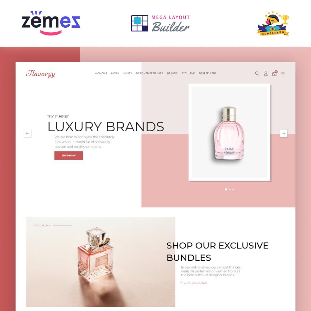 theme - Здоровье и красота - Flavoryy - Perfume Shop - 1