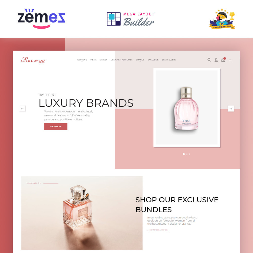 theme - Gezondheid & Schoonheid - Flavoryy - Perfume Shop - 1