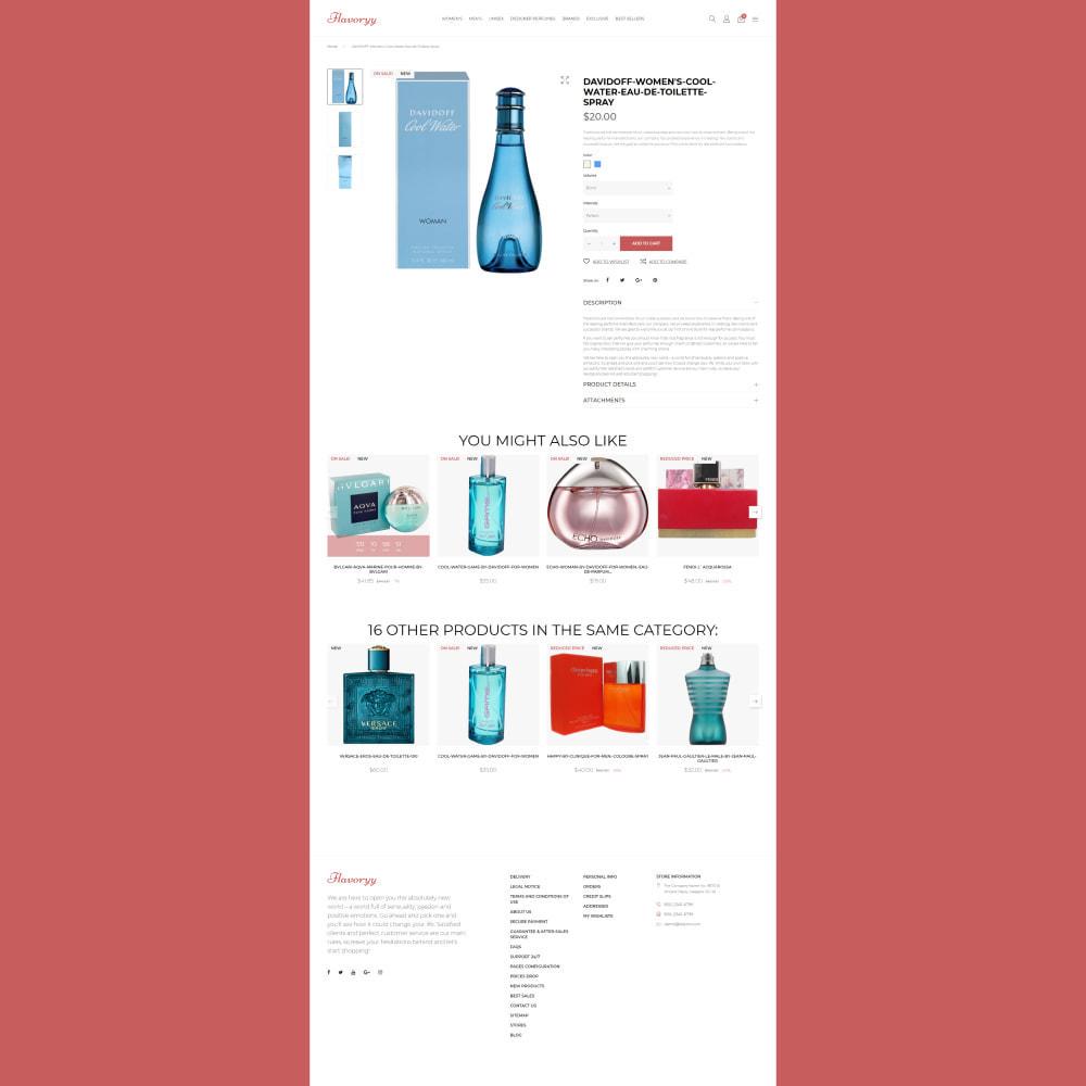 theme - Gezondheid & Schoonheid - Flavoryy - Perfume Shop - 4