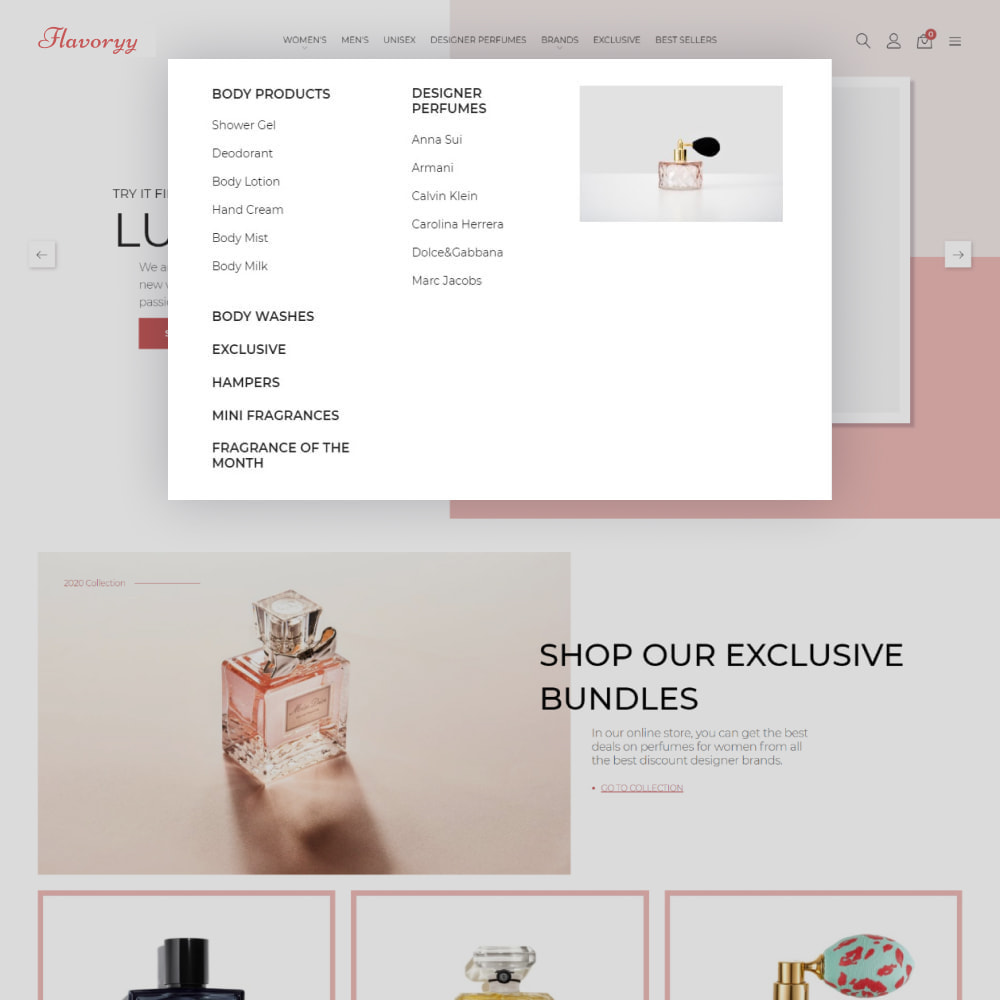 theme - Gezondheid & Schoonheid - Flavoryy - Perfume Shop - 5