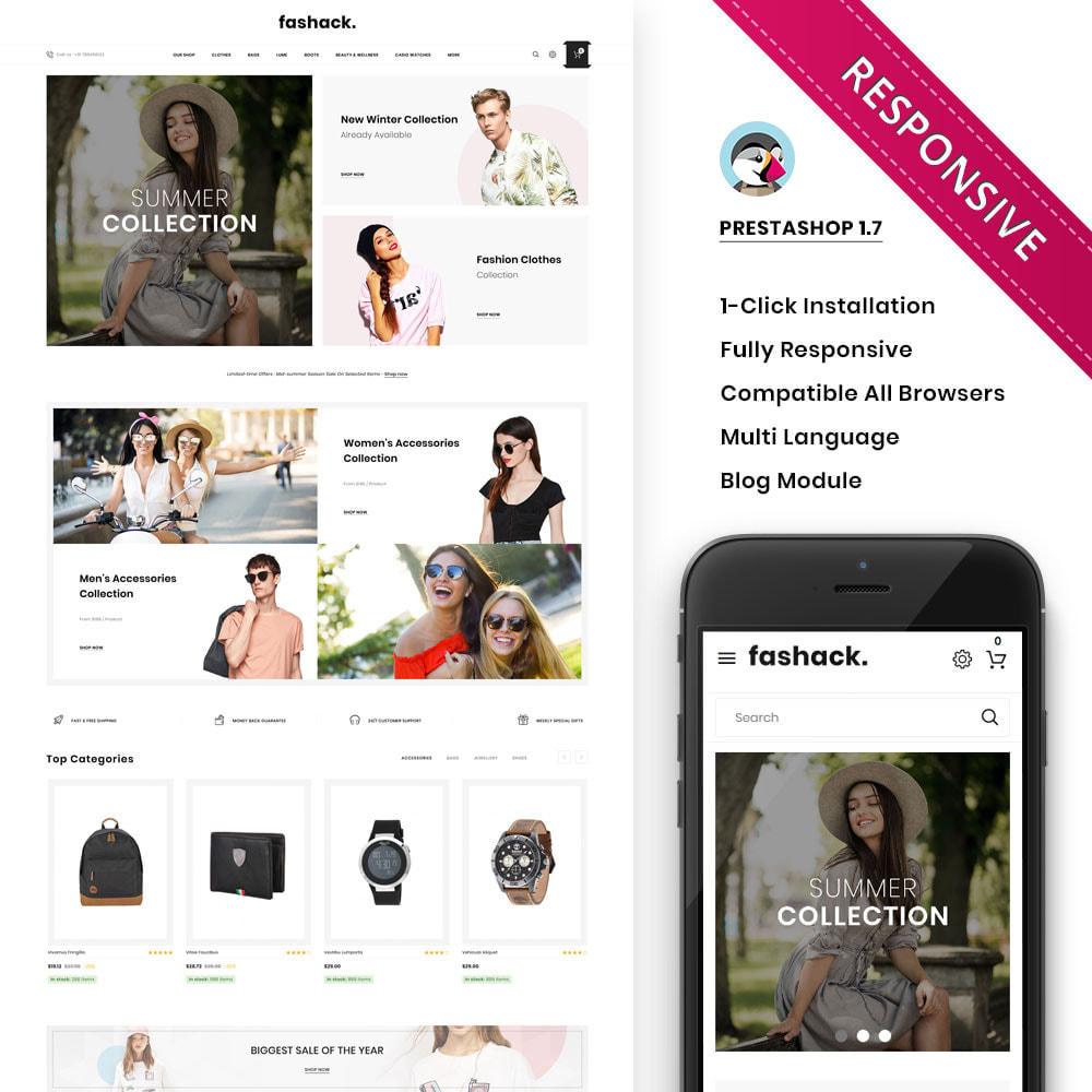 theme - Moda & Calzature - Fashack - Il negozio di moda - 2