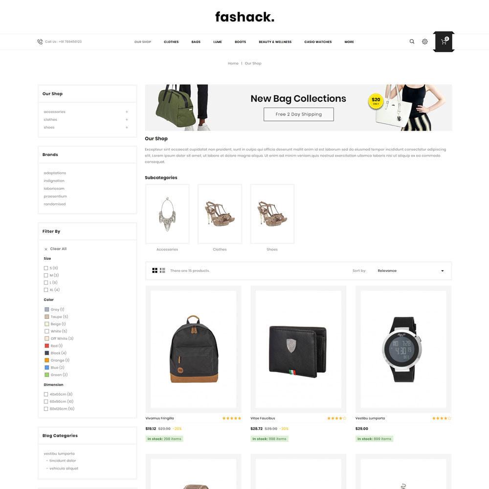 theme - Moda & Calzature - Fashack - Il negozio di moda - 5