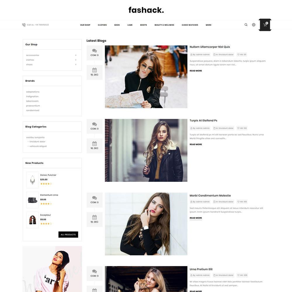 theme - Moda & Calzature - Fashack - Il negozio di moda - 8