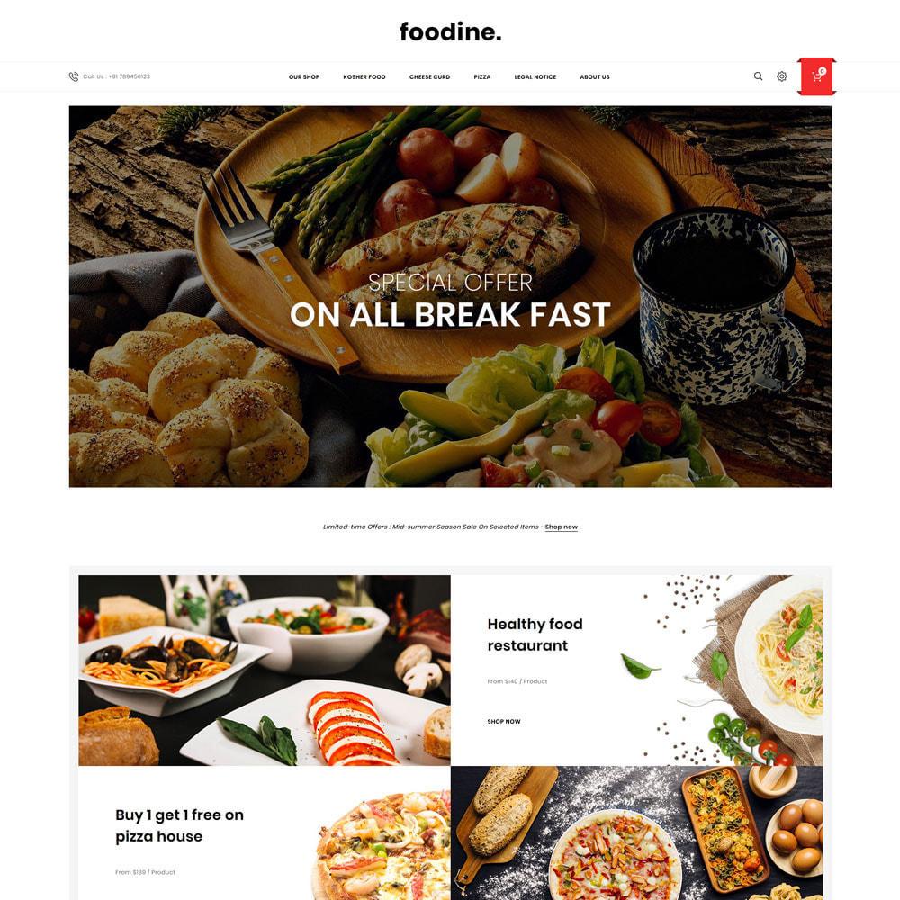 theme - Alimentation & Restauration - Foodine - Le magasin d'alimentation Mega - 4