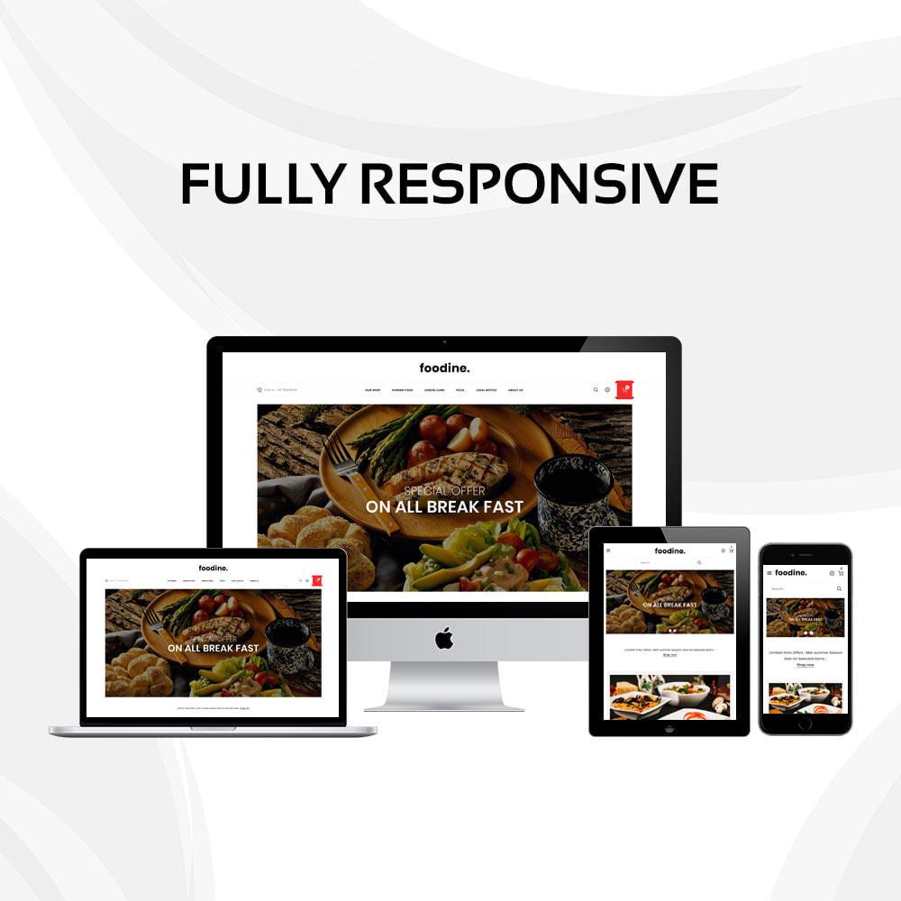 theme - Gastronomía y Restauración - Foodine - La tienda Mega Food - 3