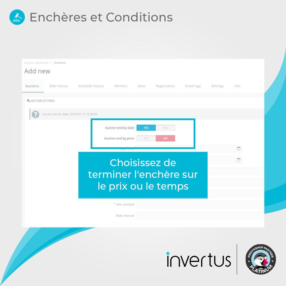 module - Site d'enchères - Enchères Avancées - 4