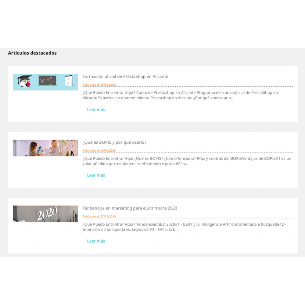 module - Blog, Forum & News - WordPress Posts - 1
