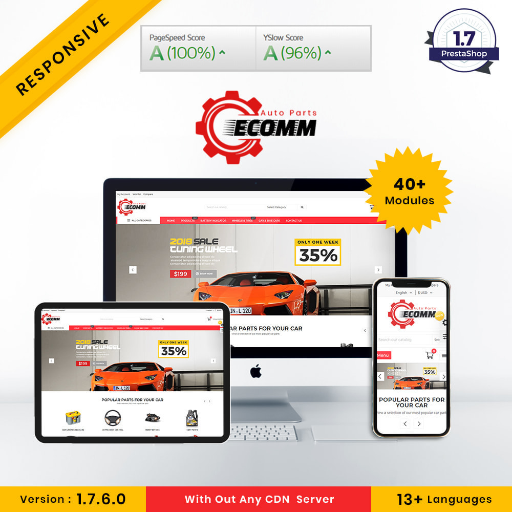 theme - Automotive & Cars - Autopart - Eccom Store - 1
