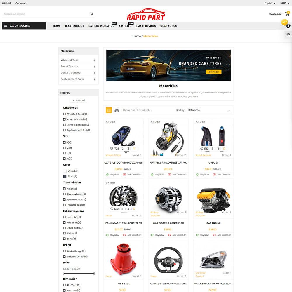 theme - Automotive & Cars - Rapid AutoPart Store - 2
