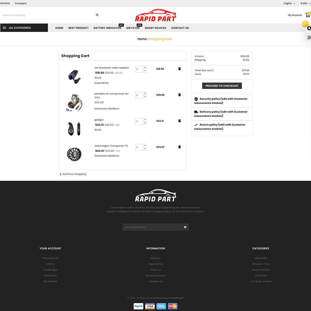 theme - Automotive & Cars - Rapid AutoPart Store - 7
