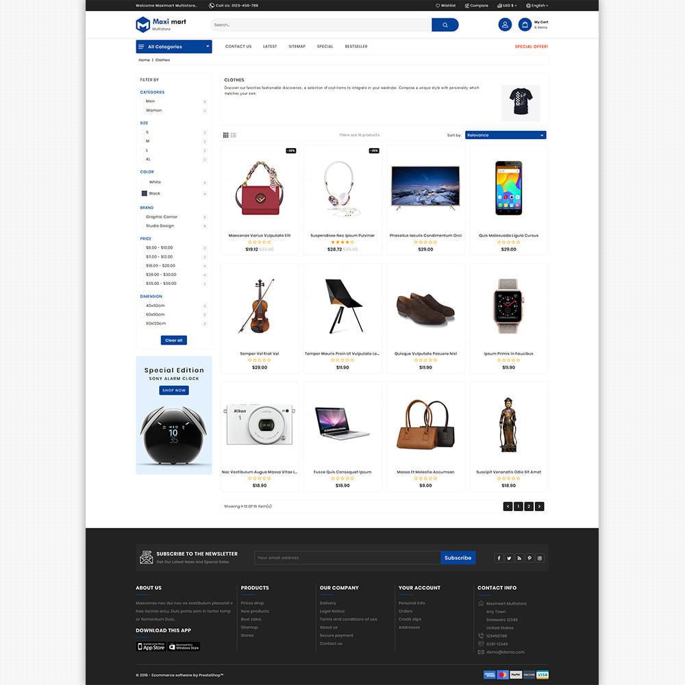 theme - Electronique & High Tech - Maximart - Best Super Market Electronics - 6