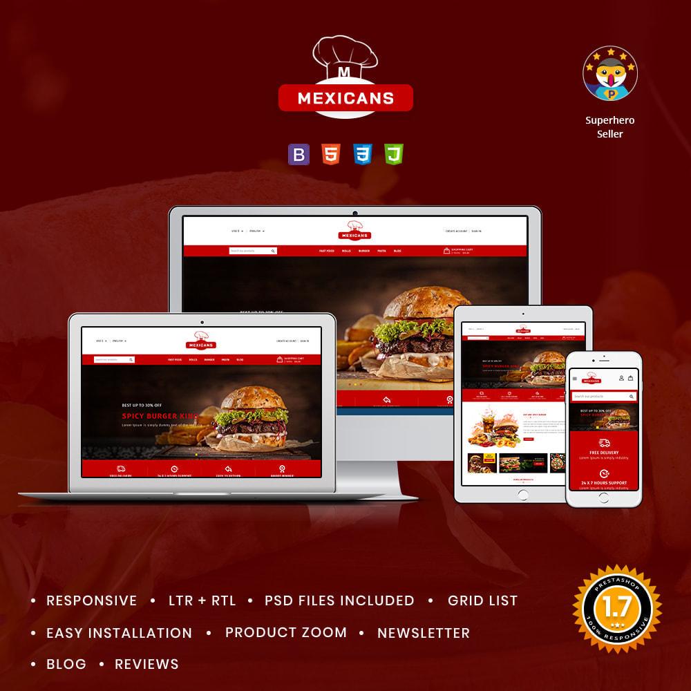 theme - Cibo & Ristorazione - Maxicans Food & Restaurant Shop - 1