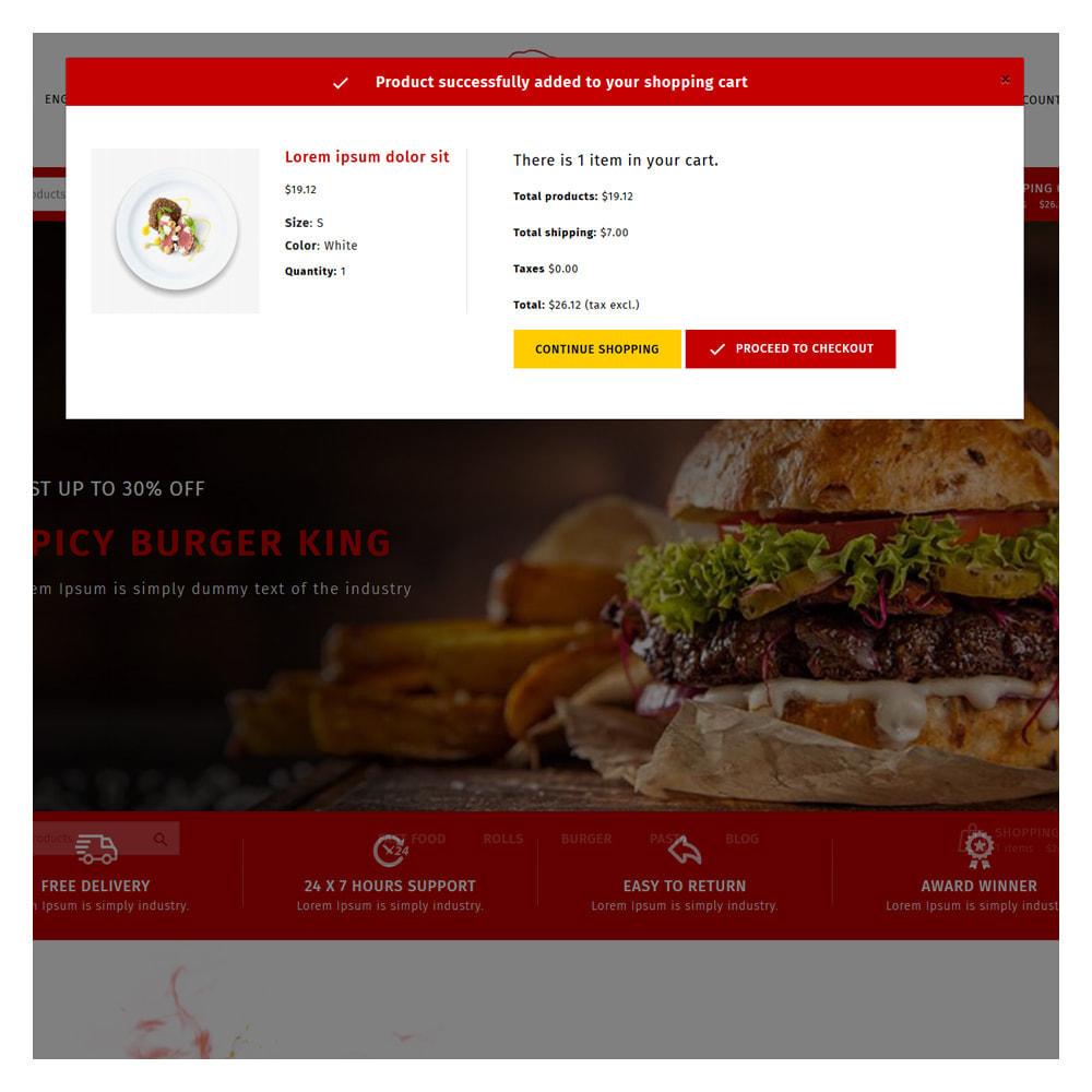 theme - Cibo & Ristorazione - Maxicans Food & Restaurant Shop - 6