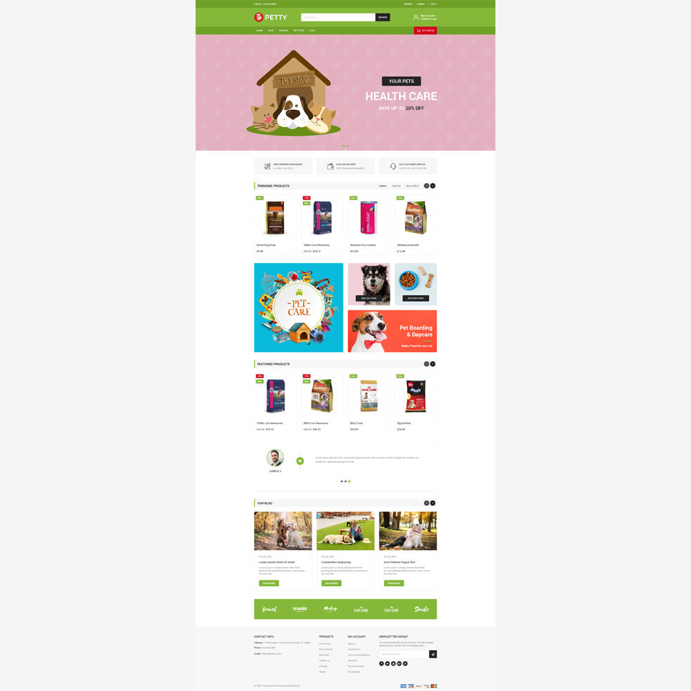 theme - Animals & Pets - Petty Store - 2