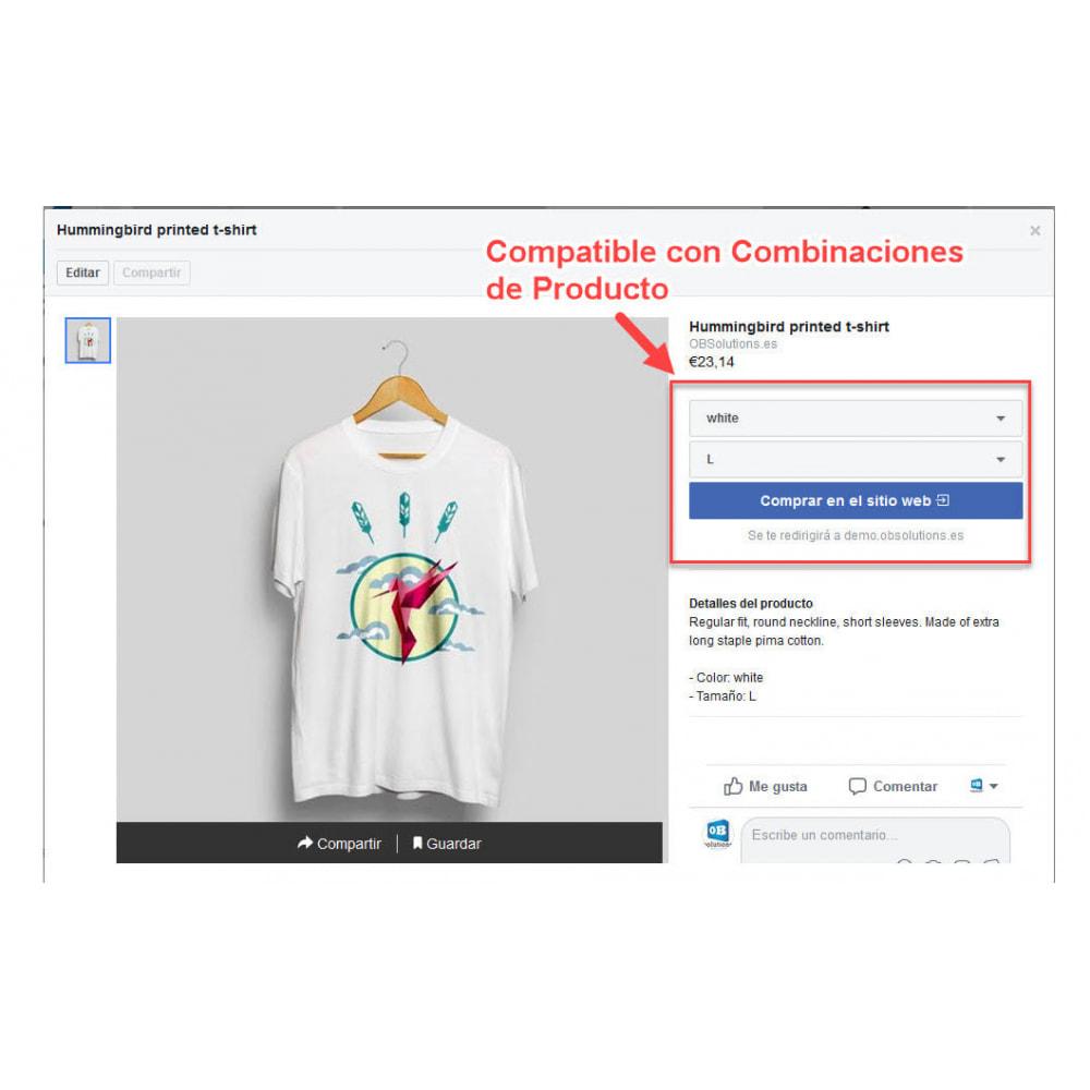 module - Productos en Facebook & redes sociales - Importador de Catálogo a Tienda Redes Sociales - 4