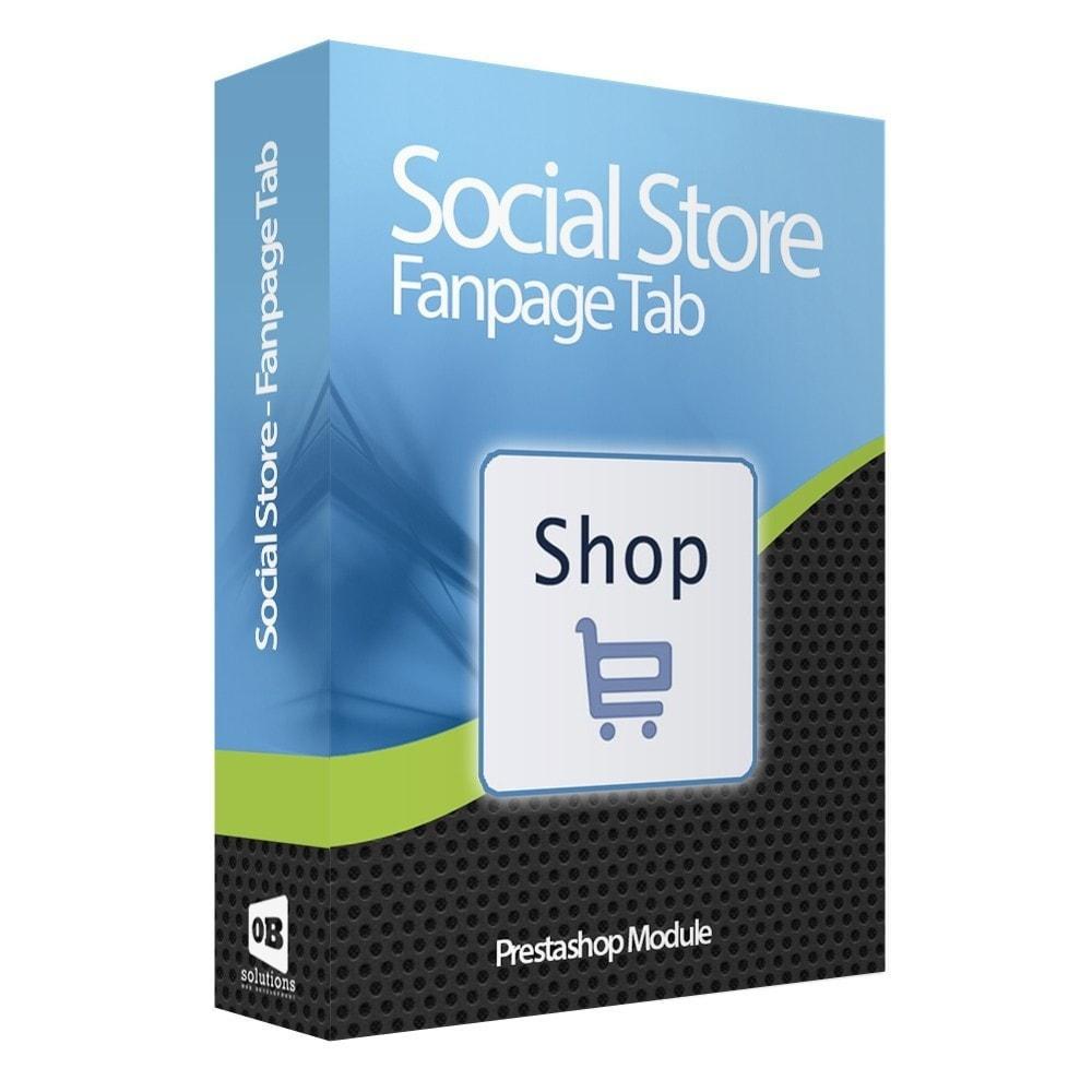 module - Produits sur Facebook & réseaux sociaux - Importateur de Catalogue sur Réseaux Sociaux Shop - 1