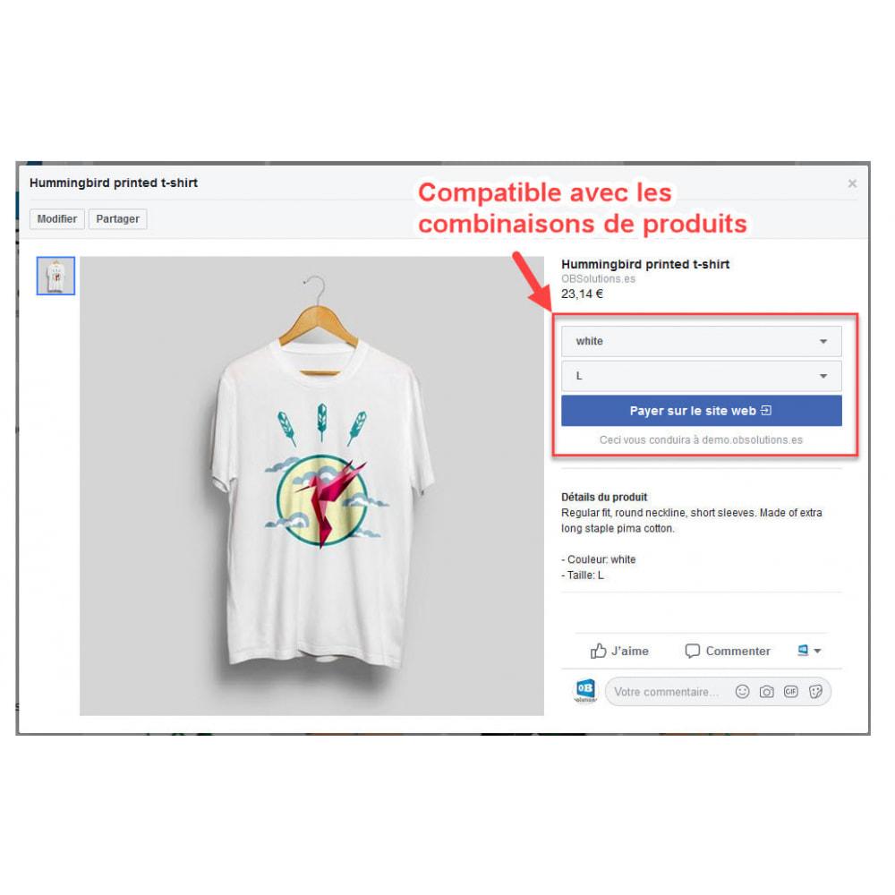module - Produits sur Facebook & réseaux sociaux - Importateur de Catalogue sur Réseaux Sociaux Shop - 5