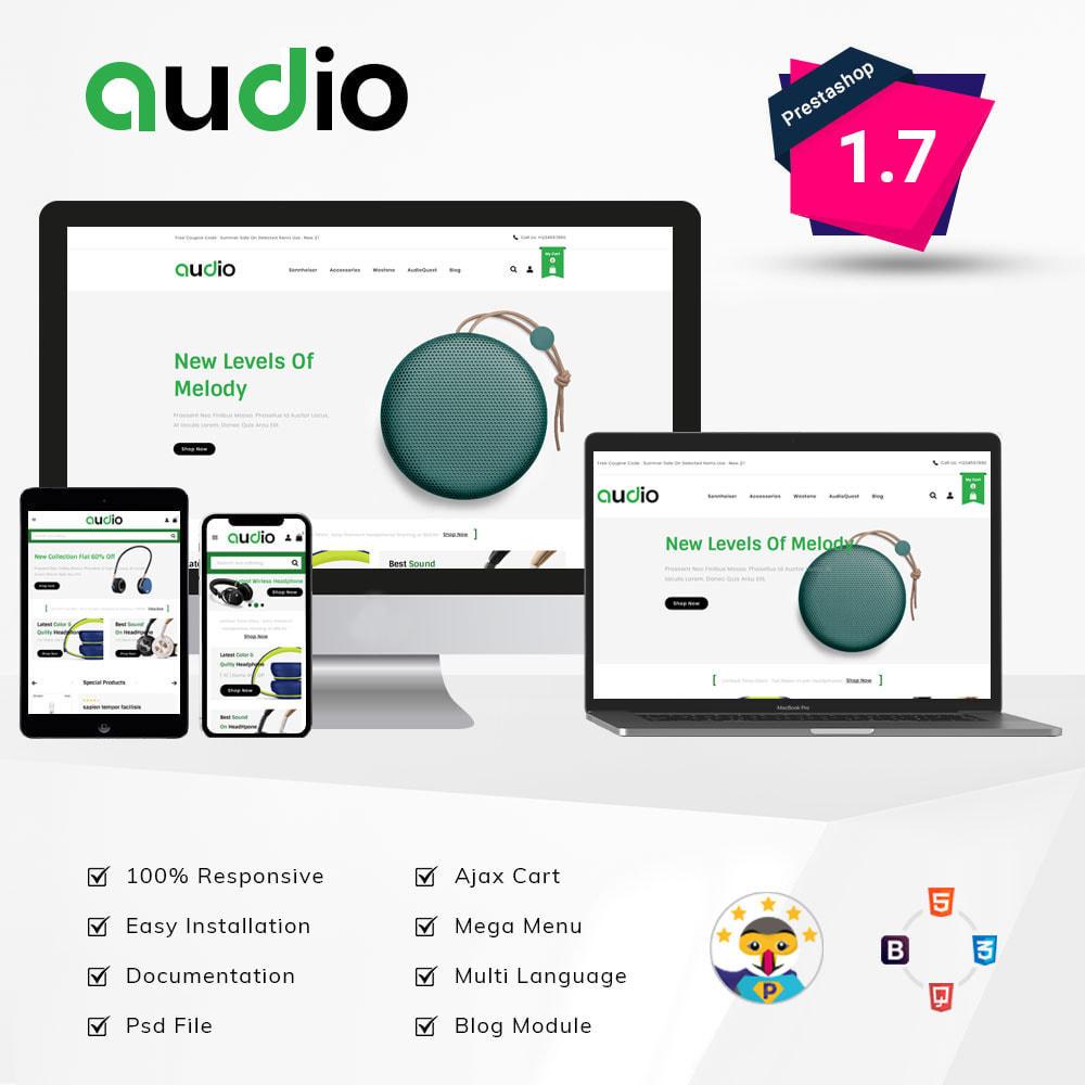 theme - Electronique & High Tech - Audio - Store - 1