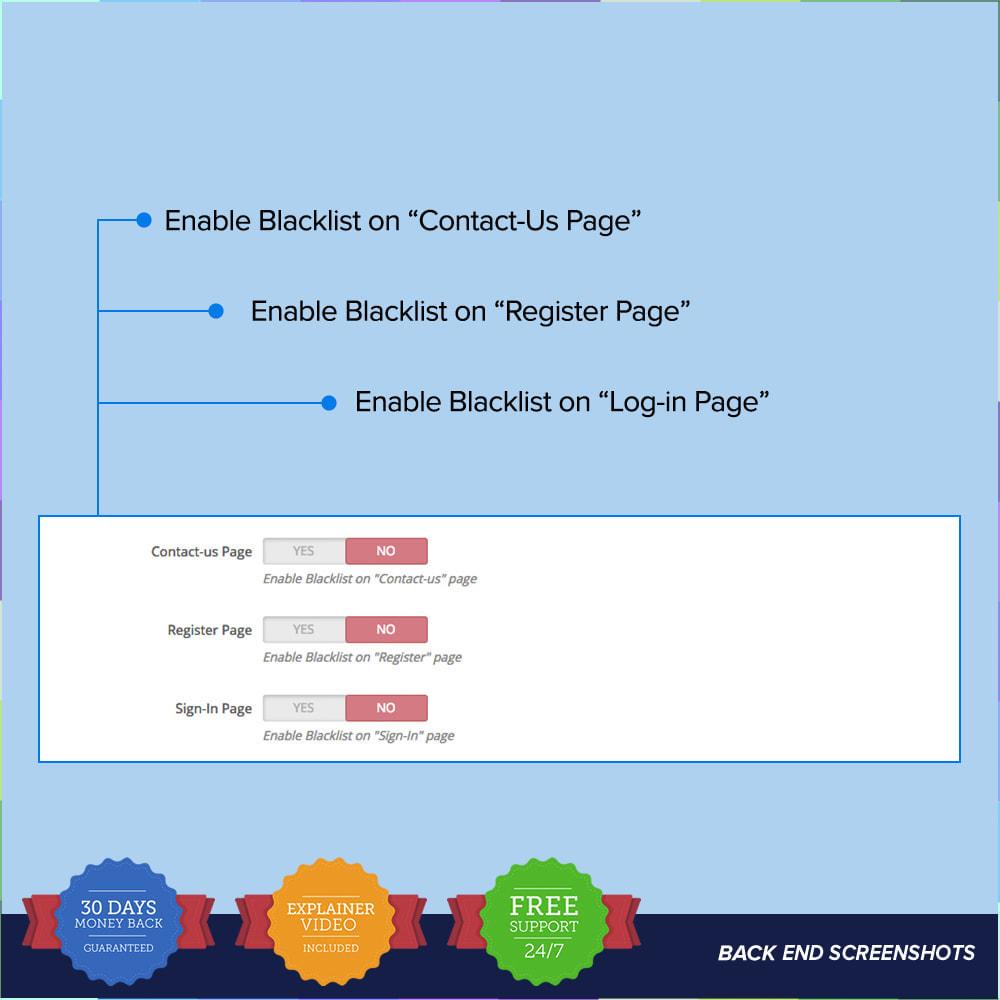 module - Sécurité & Accès - reCAPTCHA PRO - Simple - Sûr - 9
