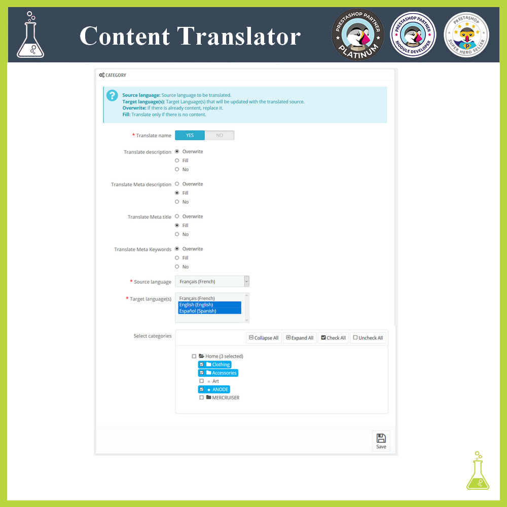 module - Internationalisierung & Lokalisierung - Advanced content translator - 3