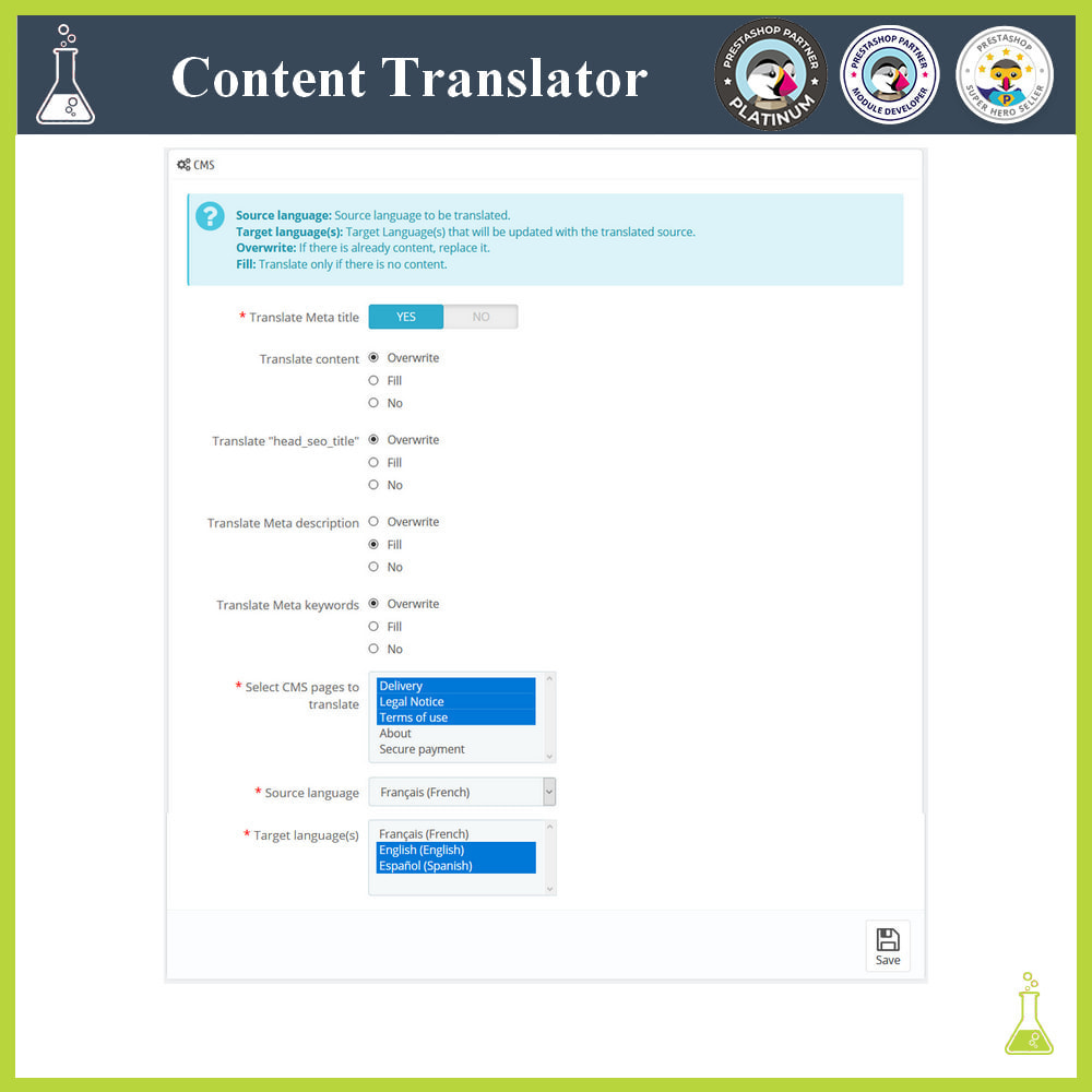 module - Internationalisierung & Lokalisierung - Advanced content translator - 6