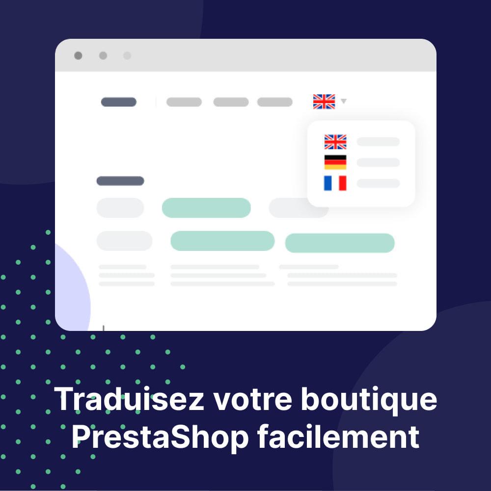 module - International & Localisation - Traduisez Votre Boutique - Weglot - 1