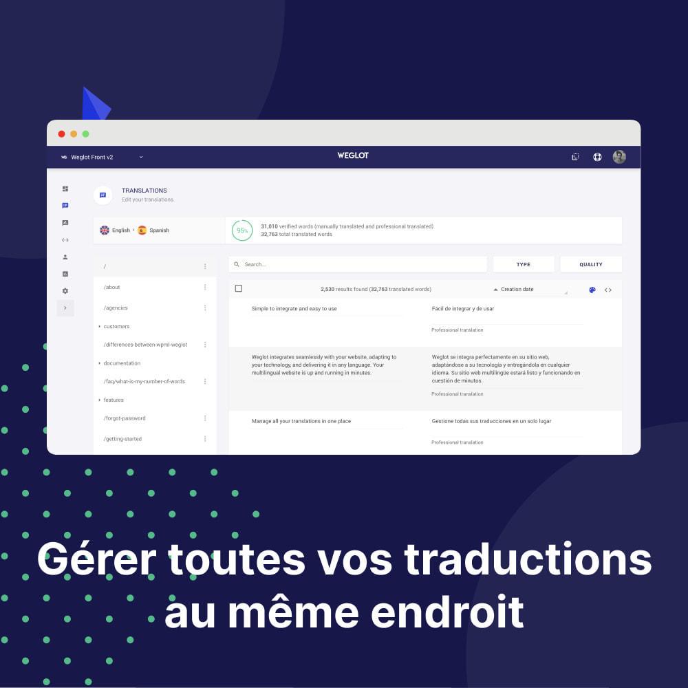 module - International & Localisation - Traduisez Votre Boutique - Weglot - 2