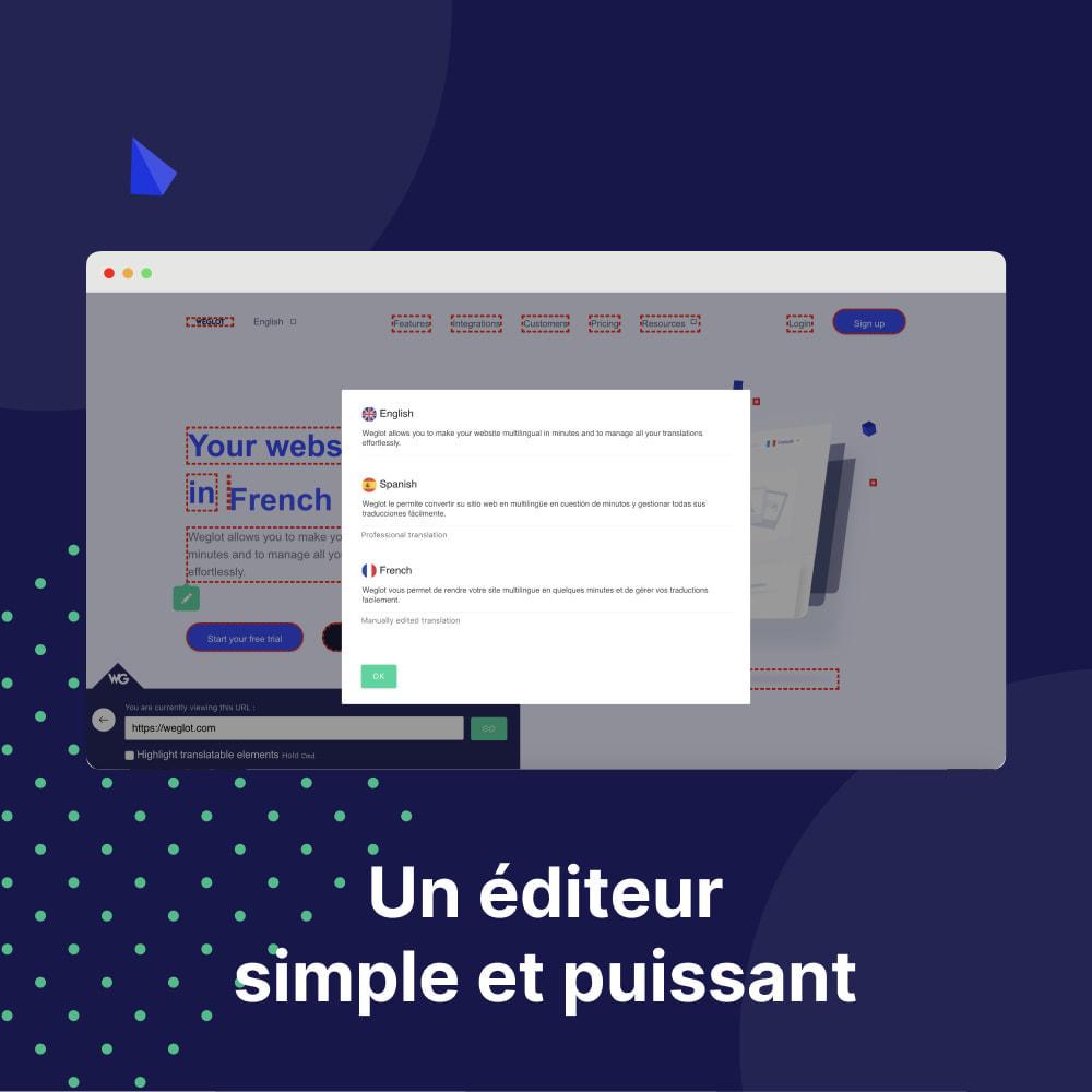 module - International & Localisation - Traduisez Votre Boutique - Weglot - 4