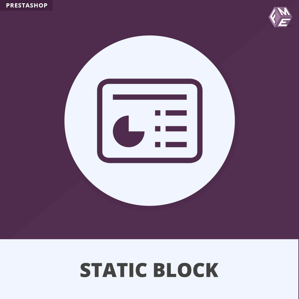 module - Blocks, Reiter & Banner - Statische Blöcke - Fügen Sie HTML- und Textblöcke hinzu - 1